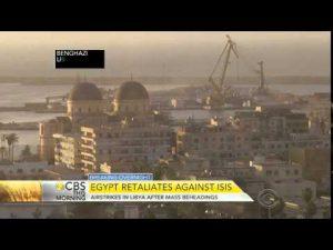 2月16日は何の日【エジプト軍】ISIS拠点を空爆