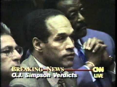 10月3日のできごと(何の日)O.Jシンプソン被告に無罪判決