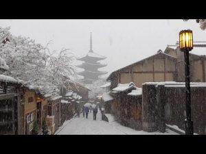 1月1日は何の日【京都市】積雪16センチ