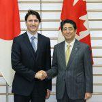 5月24日のできごと(何の日)【安倍晋三首相】カナダ・トルドー首相と会談