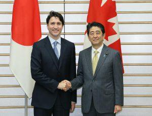 5月24日は何の日【安倍晋三首相】カナダ・トルドー首相と会談