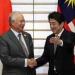 5月21日のできごと【安倍晋三首相】マレーシア・ナジブ首相と会談