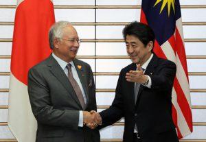 5月21日は何の日【安倍晋三首相】マレーシア・ナジブ首相と会談