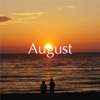 8月 葉月 August