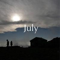 7月 文月 July