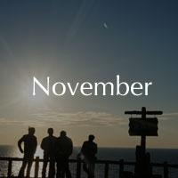 11月 霜月 November