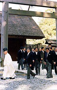 1月4日は何の日【小渕恵三首相】伊勢神宮を参拝