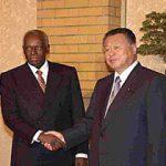1月29日のできごと(何の日)【森喜朗首相】アンゴラ共和国大統領と会談