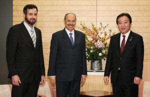 2月3日は何の日【野田佳彦首相】サウジアラビア王国経済企画大臣が表敬訪問
