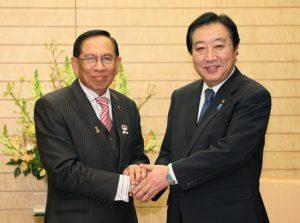 2月6日は何の日【野田佳彦首相】マレーシア上院議長が表敬訪問