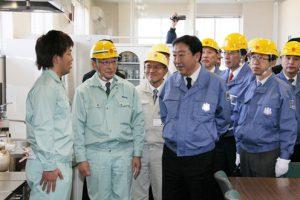 1月8日は何の日【野田佳彦首相】福島県訪問