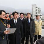 2月9日のできごと(何の日)【安倍晋三首相】被災地を訪問