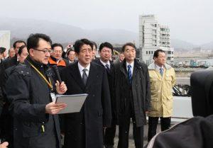 2月9日は何の日【安倍晋三首相】被災地を訪問