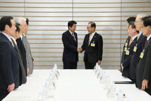 1月9日は何の日【安倍晋三首相】韓日議員連盟会長が表敬訪問