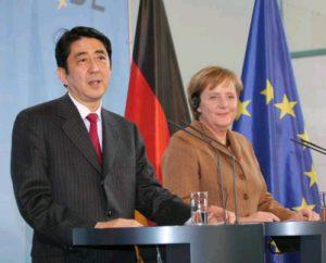 1月10日は何の日【安倍晋三首相】ドイツ・メルケル首相と会談