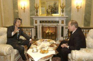 1月10日は何の日【小泉純一郎首相】ロシア・プーチン大統領と会談