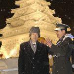 2月10日のできごと(何の日)【小泉純一郎首相】さっぽろ雪まつり会場を視察