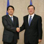 1月11日のできごと(何の日)【安倍晋三首相】EU・バローゾ委員長と会談