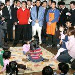 2月12日のできごと(何の日)【安倍晋三首相】杉並区立児童青少年センターを視察