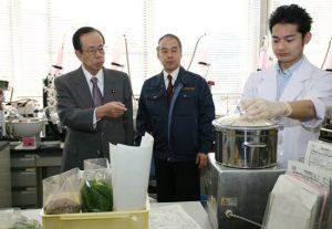 2月13日は何の日【福田康夫首相】輸入食品の検査業務を視察