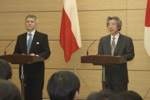 1月14日は何の日【小泉純一郎首相】ポーランド首相と会談