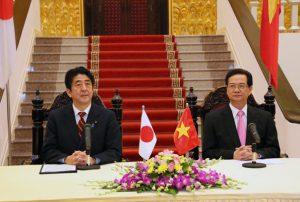 1月16日は何の日【安倍晋三首相】ベトナム・ズン首相と会談