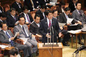 2月18日は何の日【安倍晋三首相】参院予算委に出席