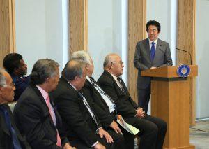 1月18日は何の日【安倍晋三首相】島しょ国と連携推進
