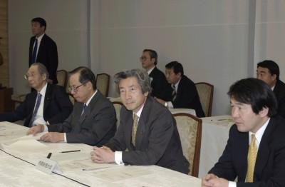 1月20日のできごと(何の日)【小泉純一郎首相】経済財政諮問会議に出席