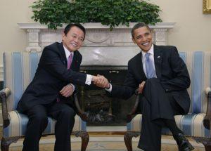 2月24日は何の日【麻生太郎首相】米・オバマ大統領と会談