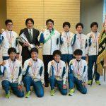 2月25日のできごと(何の日)【青学大陸上部】安倍首相を表敬訪問