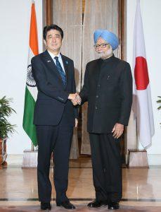1月25日は何の日【安倍晋三首相】インド・シン首相と会談