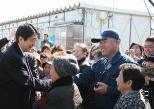 2月25日は何の日【安倍晋三首相】新潟県訪問