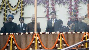 1月26日は何の日【安倍晋三首相】インドで軍事パレードに出席