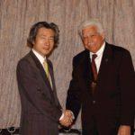 1月28日のできごと(何の日)【小泉純一郎首相】ミクロネシア連邦大統領と会談