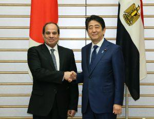 2月29日は何の日【安倍晋三首相】エジプト大統領と会談