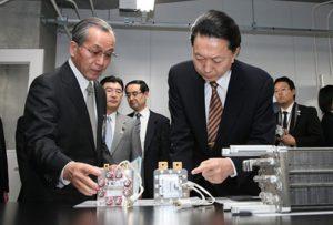 1月30日は何の日【鳩山由紀夫首相】山梨県を訪問