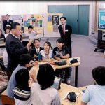6月6日のできごと【森喜朗首相】情報教育の現場を視察