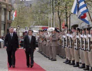 5月1日は何の日【小泉純一郎首相】ルクセンブルク訪問