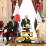 5月2日のできごと【安倍晋三首相】UAE・ムハンマド副大統領と会談