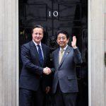 5月1日のできごと【安倍晋三首相】英・キャメロン首相と会談