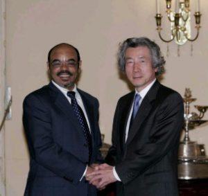 4月30日は何の日【小泉純一郎首相】エチオピア首相と会談