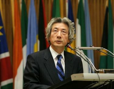5月1日のできごと(何の日)【小泉純一郎首相】アフリカ連合本部で演説
