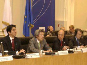 5月2日は何の日【小泉純一郎首相】EU首脳と会談
