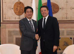5月2日は何の日【安倍晋三首相】伊・レンツィ首相と会談