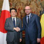 5月3日のできごと【安倍晋三首相】ベルギー訪問