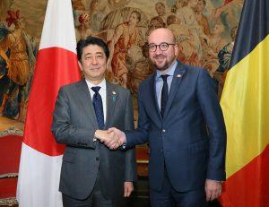 5月3日は何の日【安倍晋三首相】ベルギー訪問