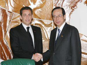 6月3日は何の日【福田康夫首相】仏・サルコジ大統領と会談