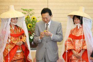 6月3日は何の日【鳩山由紀夫首相】梅生産者の表敬に「元気になるねえ」