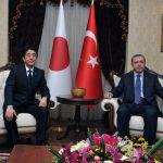 5月3日のできごと【安倍晋三首相】トルコ・エルドアン首相と会談